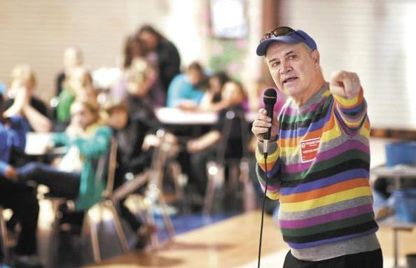 Phil Hoose (Photo by John P. Cleary, Herald Bulletin)