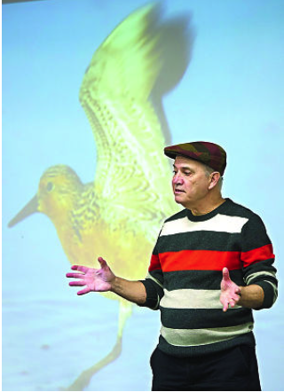 Phillip Hoose Talks MOONBIRD at Indiana School